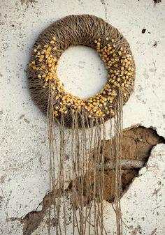 corn on the wreath