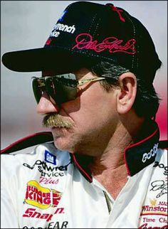 NASCAR racer, Dale Earnhardt, it will never be the same with out him.  Dale would never have let Childress put Austin Dillon in his number 3 car!