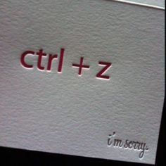 Nerd apology. haha! But in my case it's apple + z
