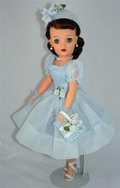 "Pretty Brunette Ideal Miss Revlon VT 18 Vintage 50's 18"" Fashion Doll Cissy PAL | eBay"