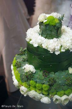 flower cake via fleursdemars.fr