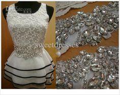 Wholesale 2013-Royal dazzling crystal beaded rhinestone beaded wedding dresses sashes bridal gown belt AH-013, Free shipping, $23.52-51.52/Piece | DHgate