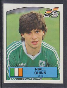 Image result for niall quinn panini sticker euro88 Baseball Cards, Stickers, Retro, Sports, Image, Hs Sports, Neo Traditional, Excercise, Sticker