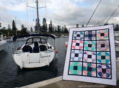Samelia's Mum: Oh Buoy Quilt - Coastline By Sharon Holland for Art Gallery Fabrics