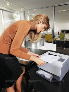 Buy woman next to printer l by toocan on PhotoDune. business woman with documents standing next to printer Pmp Exam, Wireless Printer, Exams Tips, Project Management, Business Women, Leather Skirt, Stock Photos, Woman, Inkjet Printer
