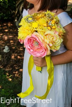 Neon bouquet with si