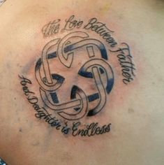 Celtic Symbol For Father Daughter Bond Matchingtattoos Ink Daddy Tattoos Tattoos For