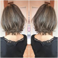 Pin on ヘアスタイル Pin on ヘアスタイル Medium Hair Styles, Short Hair Styles, Layered Haircuts, Hairstyles Haircuts, Short Hairstyles For Women, Hair Today, Hair Designs, Short Hair Cuts, New Hair