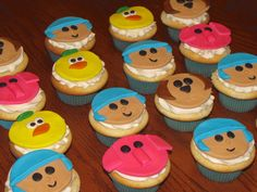 Pocoyo Cupcakes!
