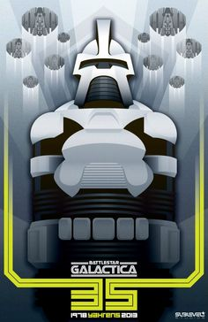 Battlestar Galactica 35th Anniversary Prints