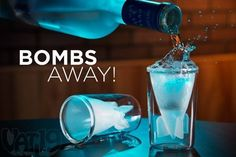 44ml Double Walled Glass Bombs Away Shot Glasses Missile Shot Glass (Set of 2)