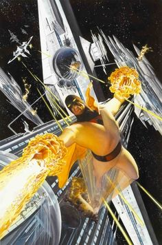 Space Ghost (by Alex Ross)