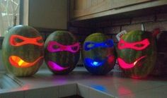 TMNT. I will be doing this for halloween when I grow up.