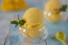 Frozen yogurt à la mangue #frozenyogurt #mango