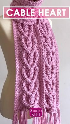 Loom Knitting Stitches, Cable Knitting Patterns, Knitting Videos, Knit Patterns, Free Knitting, Crochet Sweater Design, Knit Crochet, Celtic Heart, Knitted Headband