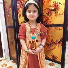Lovely Kurdish Girl in traditional Dress.