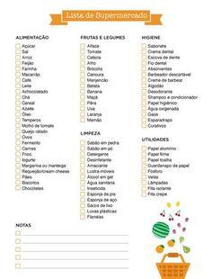 How to make the supermarket list? - Constance Zahn- Como fazer a lista do supermercado? – Constance Zahn How to make the supermarket list? 2017 Planner, Blog Planner, Living Alone Tips, Planners, Do It Yourself Fashion, Flylady, Personal Organizer, Home Hacks, Organization Hacks