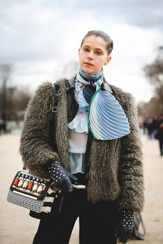 Image result for street style paris aw16