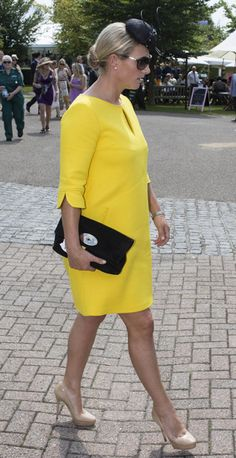 Zara Phillips shows off her first maternity outfit ZaraPhillips debuted her first maternity outfit on Thursday