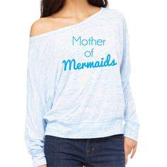 Mother Of Mermaids T-Shirt. Funny Mermaid Top. Mermaid Mum. Mermaid Mom. Be a Mermaid. Mermaid T-Shirt. Mermaid Life. I love Mermaids. by SoPinkUK on Etsy