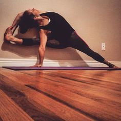 Pin for Later: Forget the Mat! Try These Wall Yoga Poses  Related Stories:Your Muscles Will Be on Fire After This 16-Minute Yoga Sequence