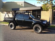 Custom Triton Ute Trays are made custom to suit a Mitsubishi Triton 2006 ML to current model MN.