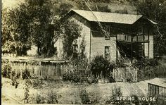 Devil Anse Hatfield home in Logan Co WV-ca 1910--EWVAIH
