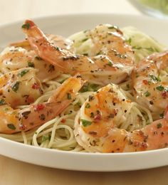 Quick And Easy Shrimp Scampi Recipe Allrecipes Com. Shrimp Scampi With Linguini Recipe Tyler Florence Food . Shrimp Scampi Recipe With Scampi Sauce {Video . No Calorie Foods, Low Calorie Recipes, Quick Recipes, Cooking Recipes, Healthy Recipes, Shrimp Dishes, Shrimp Recipes, Fish Recipes, Pasta Recipes