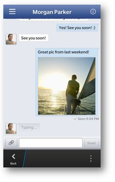 Facebook has just released an update to its native Facebook app for BlackBerry 10. The update brings the most-awaited Facebook chat to users. #Facebook #Mobile #Apps