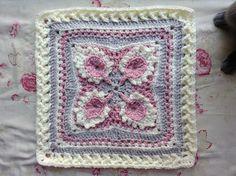 """Ravelry: Promise Me Spring Afghan BLOCK 9/12"""" pattern by Margaret MacInnis"""