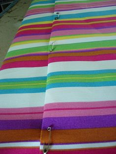 Diy Patio Cushions No Sew.: No Sew Patio Furniture Cushion Re Do. How To Make A No Sew Cushion Cover Outdoor Cushion . No Sew Patio Cushions And Pillows How To Make A Pillow . Chair Cushion Covers, Outdoor Cushion Covers, Outdoor Chair Cushions, Bench Cushions, Outdoor Daybed, Recover Patio Cushions, Patio Furniture Cushions, Outdoor Dining, Garden Furniture