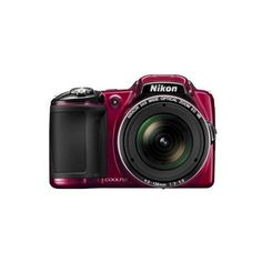 Nikon L830 16MP Digital Camera with 30X Optical Zoom (10,830 DOP) ❤ liked on Polyvore featuring camera, cameras & camcorders and point-and-shoot cameras