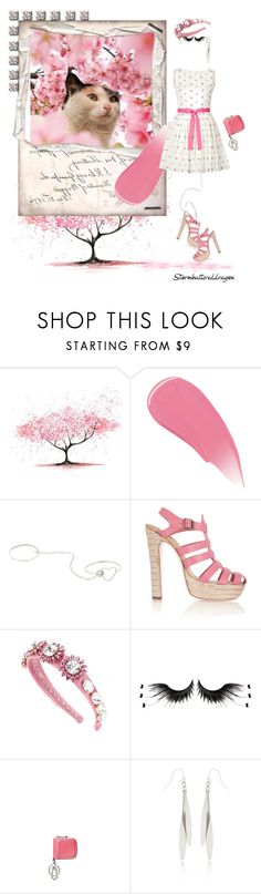 """Shy Girl, Spring is here in NJ"" by stormbattereddragon ❤ liked on Polyvore featuring Burberry, Suzannah Wainhouse, RED Valentino and Dolce&Gabbana"