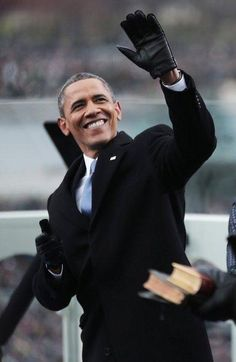 Making History...first black president in America.. Barrack Obama