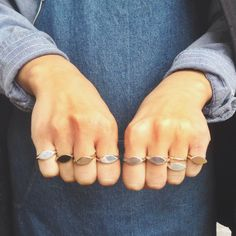 Flat Top Rings!!!