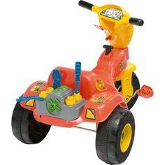 Triciclo Magic Toys Tico Tico Mecânico, diversão para seu filho.