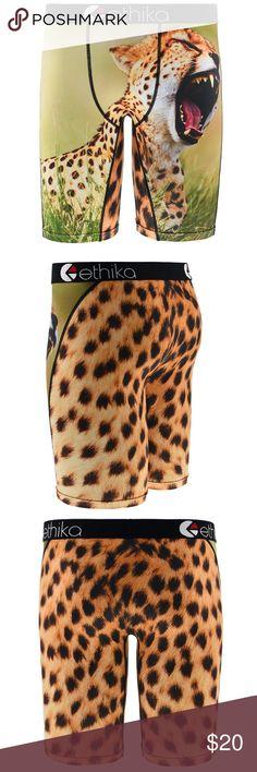 Ethika you a cheetah staple boxer Brand new Staple you a cheetah boxer from Ethika. ethika Underwear & Socks Boxer Briefs
