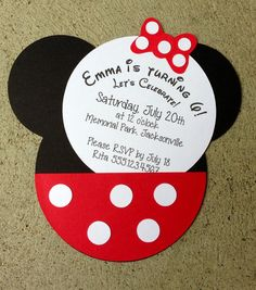 Disney Character Invitations