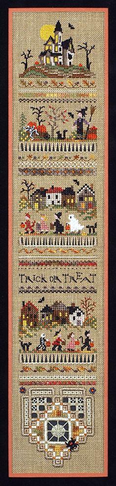 Trick Or Treat Sampler by Victoria Sampler