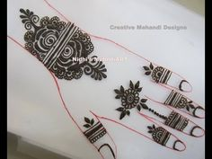 YouTube DIY #beautiful n #simple #henna #mehndi #design #tutorial