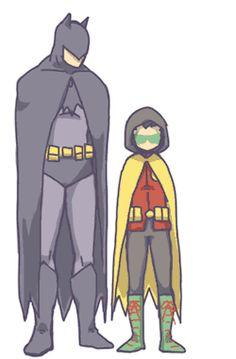 dick grayson Damian Wayne