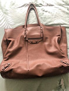 Balenciaga Papier A4 Large Tote Light Pink Calfskin -Great condition Barely  used d224bb876f68c