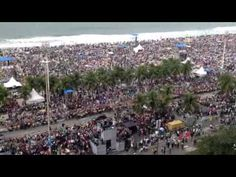 Pope Francis arrived in Copacabana July 28 2013