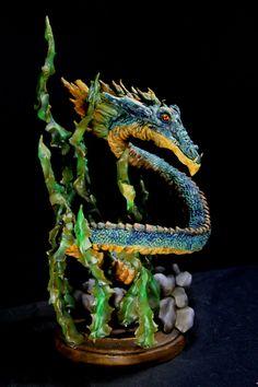 Rackham Sea Serpent Dragon 3 by RavendarkCreations.deviantart.com on @DeviantArt