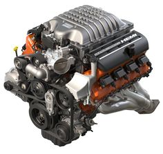 The 2015 Dodge Challenger SRT Hellcat Engine. Exerting a monstrous 707 horsepower and 650 lb-ft of torque! Dodge Challenger Hellcat, Dodge Srt, 2018 Dodge, Mopar, Hellcat Engine, 2015 Dodge Charger, Motor Diesel, Automobile, Classic Cars