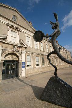 The Drummer by Barry Flanagan- Irish Museum of Modern Art, Dublin