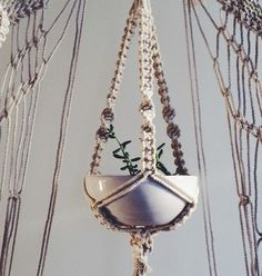 MACRAME PLANT HANGER WORKSHOP at TWIG AND TWINE/ LOS ANGELES JANUARY 18th