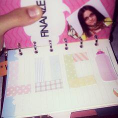 My name #lucywonderland #fflovephotoaday #planner #organiser #filofax