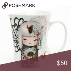 """Kimmidoll """"YORIKO"""" Dependable 13oz Mug Kimmidoll Yoriko Dependable Mug Sit Back And Relax With Your Favorite Drink In A Quality Porcelain Kimmidoll Mug. Always A Beautiful Addition To Your Home The Mugs Feature Stunning Kimmidoll Artwork And A Gorgeous Inspirational Message!  This is a collector's item.   No Offers, No trades. enesco Other"""