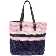 MARNI woven straw colour block tote ($604) ❤ liked on Polyvore featuring bags, handbags, tote bags, color block tote bags, marni, colorblock handbags, color block purse and colorblock purse